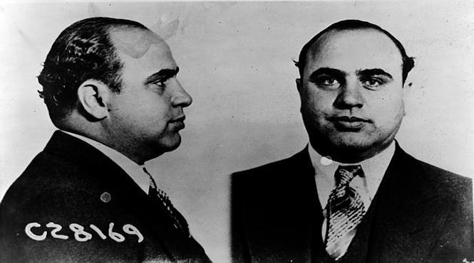 """Crime History: Al """"Scarface"""" Capone Goes Down For Tax Evasion"""